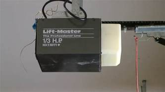 liftmaster professional garage door opener troubleshooting