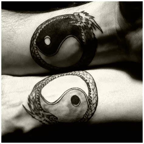 tattoo yin yang hand yin yang dragon tattoo on wrist busbones