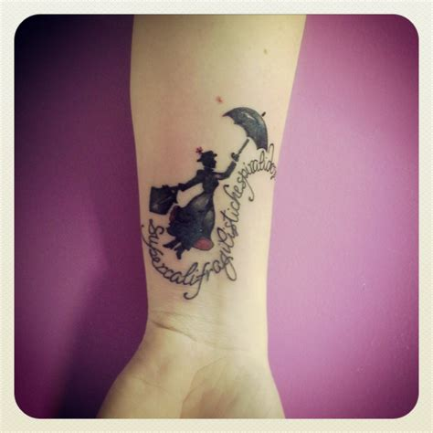 mary poppins tattoo poppins