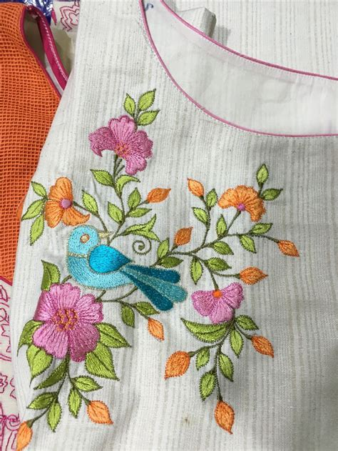 Handmade Embroidery Designs Suits - 17 best images about kurte on wear