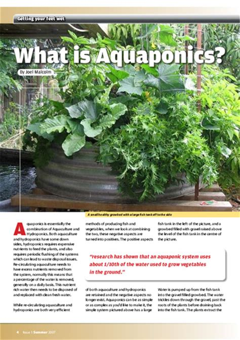 backyard aquaponics magazine pdf outdoor furniture