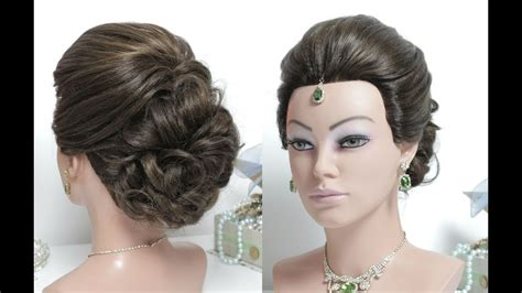 easy bridal hairstyles youtube easy wedding hairstyles with puff bridal updo hair
