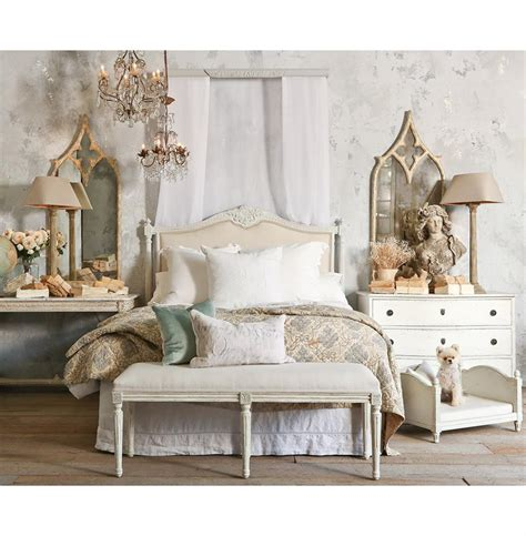 Country Headboard by Louis Xvi Country Linen Upholstered Headboard King Kathy Kuo Home