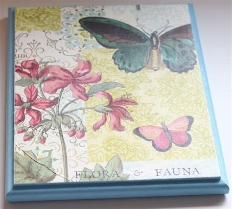 How To Decoupage On Wood With Paper - dill pickle design decoupage wood plaque