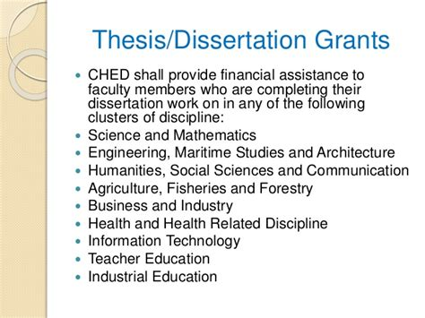 funding for dissertation research being is tough dissertation grants