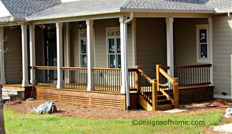 before and after wrap around deck makeover featuring trex 146 best porch before and afters images on pinterest