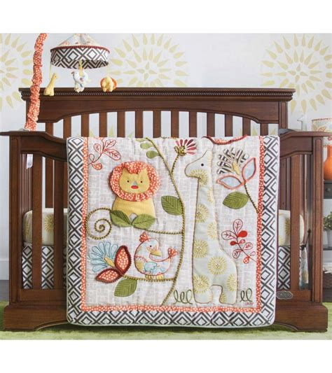 Cocalo Crib Bedding Cocalo Sydney 4 Crib Bedding Set