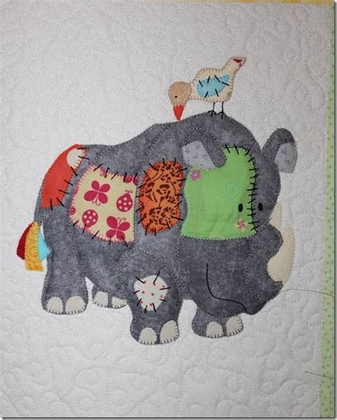 Animal Patchwork Quilt Patterns - quilted animals quilting animal