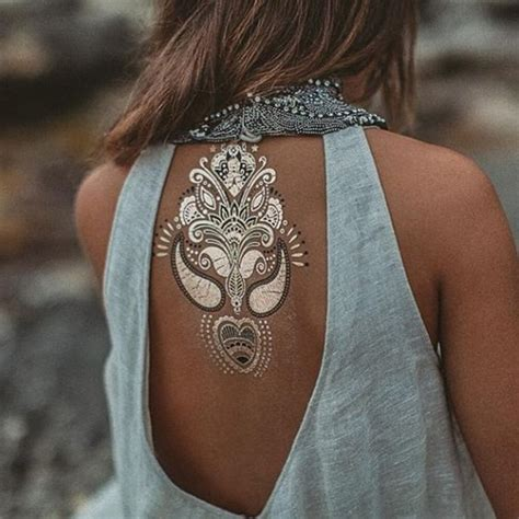 silver ink tattoos 40 temporary metallic tattoos that are in trend