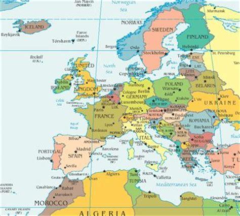 map of usa and europe map of europe the nurses usa worldnomads