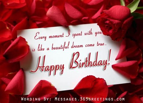 Happy Birthday Wishes For Him Romantic Birthday Wishes 365greetings Com