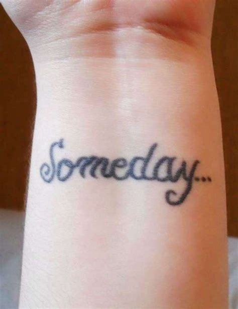 small word tattoo 37 awesome wrist tattoos