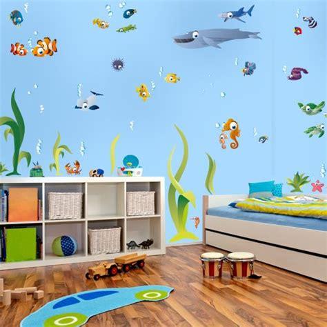 Wandtattoos Unterwasserwelt Kinderzimmer by Wandtattoo Unterwasserwelt 252 Ber 50 Teile 200 X 130 Cm