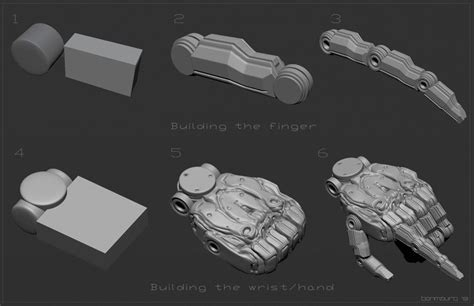 zbrush tutorial robot 104 best images about zbrush hard surface on pinterest