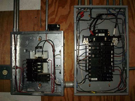 New Sub Panel Added Next To Existing 100 Amp Service Yelp
