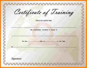8 training certificate template free download sample of