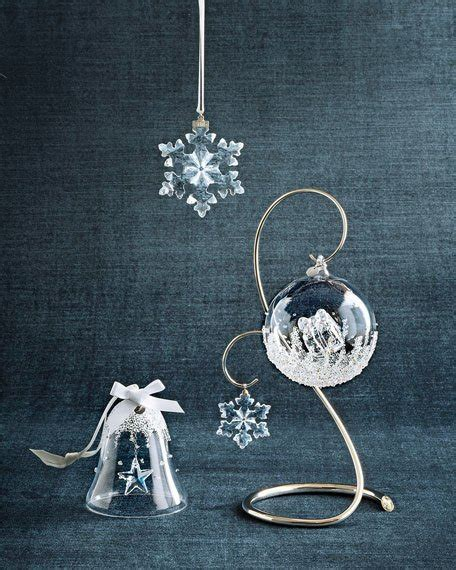 swarovski christmas ornament display stand