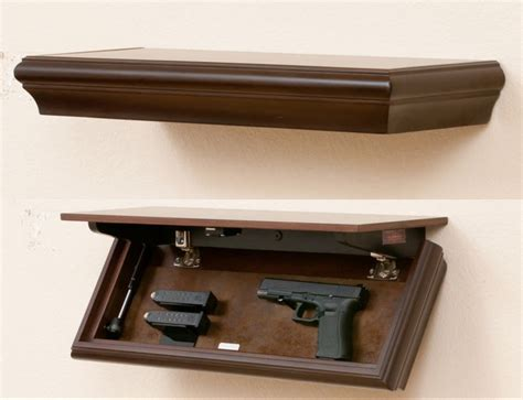 On The Shelf Secret by Hiding In Plain Sight Furniture To Hide Your Guns