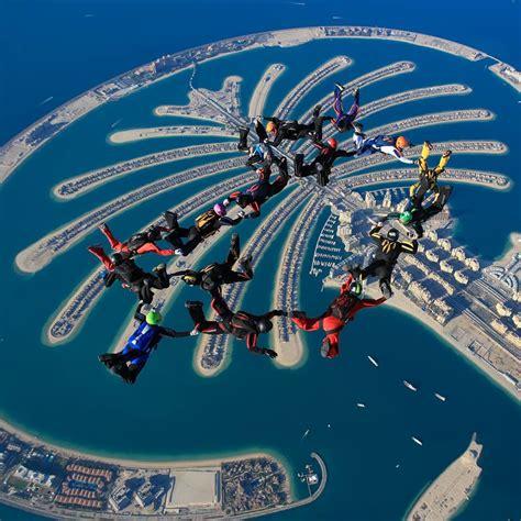 skydive dubai  places   world  skydive suma