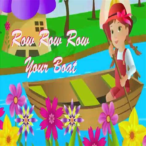 row row your boat disney kids nursery rhyme row row row your boat