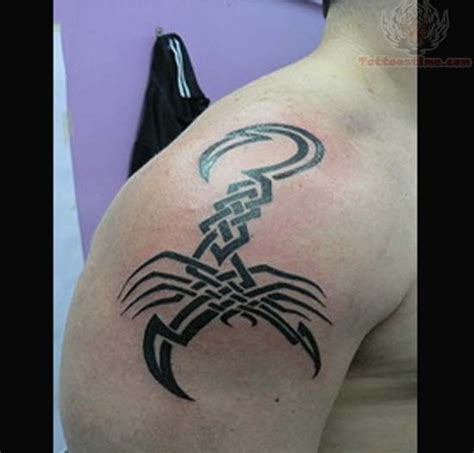 tribal scorpion tattoo designs tribal scorpion design for
