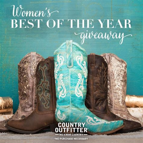 Country Outfitters Giveaway - country outfitter boots giveaway life with kathy