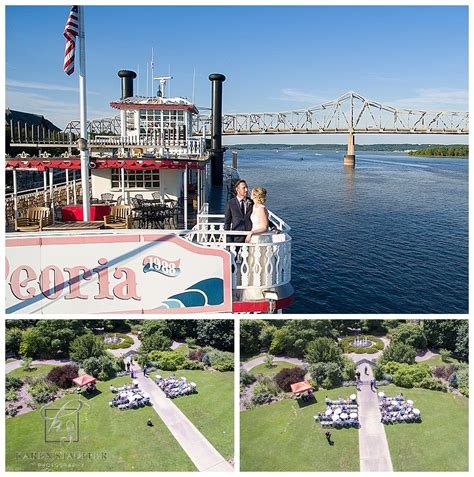 botanical gardens peoria il luthe botanical gardens wedding peoria riverboat reception