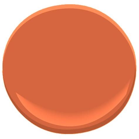 benjamin orange parrot 2169 20 interiors orange paint colors