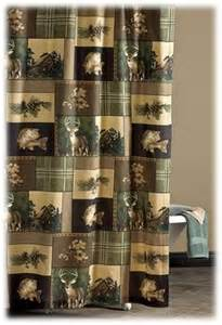 outdoor themed shower curtains fishing lodge decor on shotgun