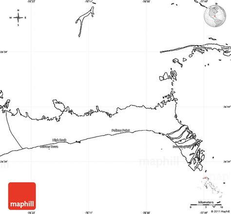 bahamas map coloring page blank simple map of east grand bahama