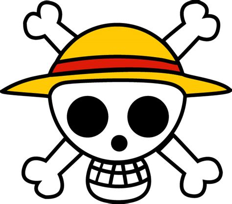 Logo Anime Luffy one jolly roger wallpaper wallpapersafari