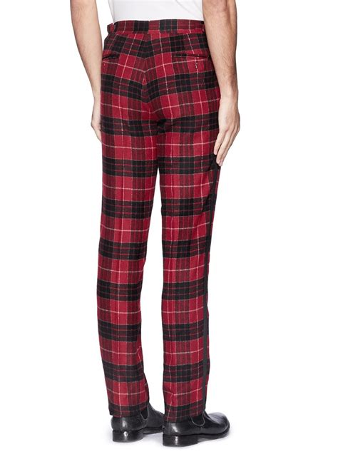 Kemeja Flannel Tartan 5 Colour lyst ovadia and sons tartan plaid flannel in for