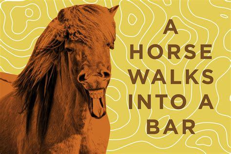 libro a horse walks into funny horse jokes reader s digest