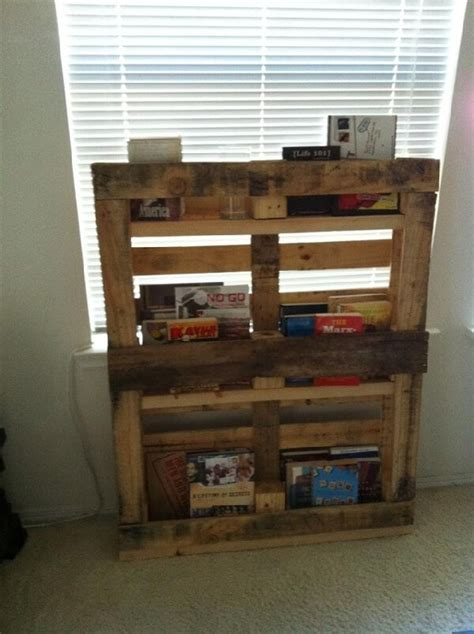diy reclaimed pallet bookshelf ideas ideas with pallets