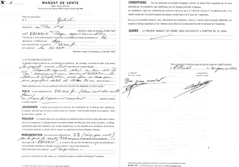 Modification Contrat De Travail Apres Cession by File Mandat De Vente N 176 1 Loi Hoguet Jpg Wikimedia Commons