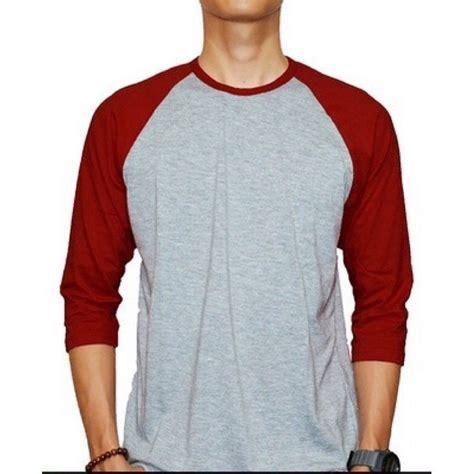Kaos T Shirt Electrohell Terlaris terlaris baju raglan reglan polos kaos reglan raglan