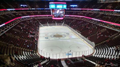 Section 327 United Center by United Center Section 327 Chicago Blackhawks