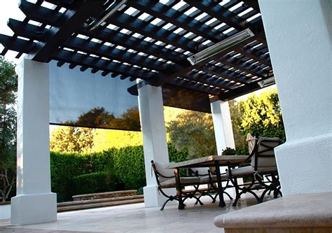 shade curtains for patios patio curtains shades american awning blind co