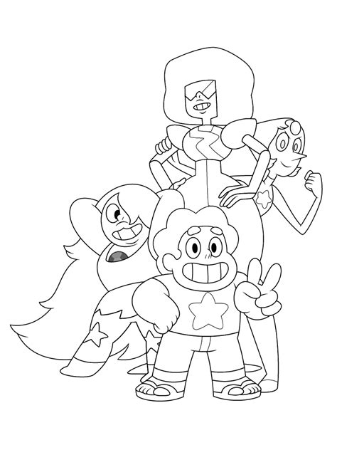 Coloring Page Universe by Steven Universe Coloring Pages 25 Coloring Pages For