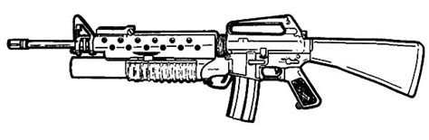 free printable coloring pages of guns gun coloring pages bestofcoloring com