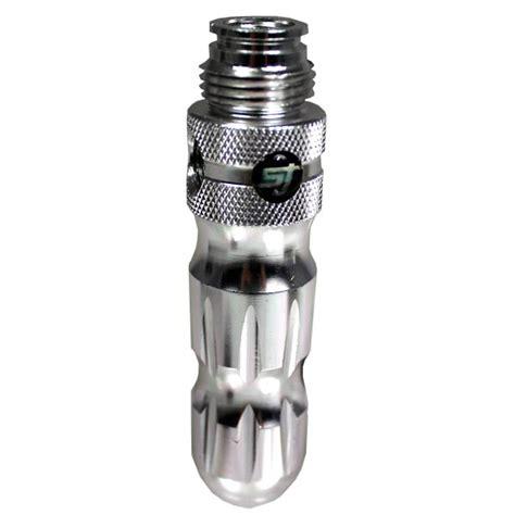 Handgrip Gas shocktech paintball gas thru grip silver