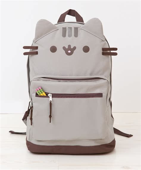 cat backpack pusheen the cat backpack hey chickadee