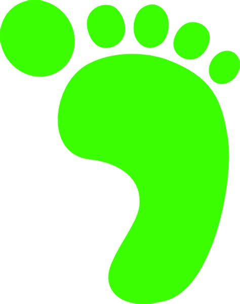 footprint clipart right footprint clip at clker vector clip