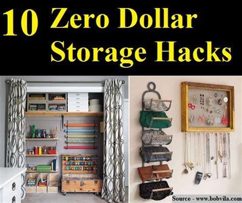 life hacks storage 10 zero dollar storage hacks home and life tips