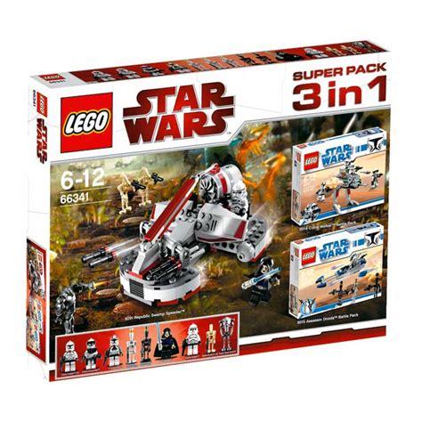 Xl931345 Ciat 3in1 Spider Set Lego White Clone Wars Clone Trooper Wars Torso 76382