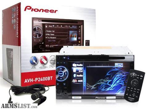 Pioneer Avh 195 Dvd Sale Bergaransi armslist for sale pioneer avh 2400bt din