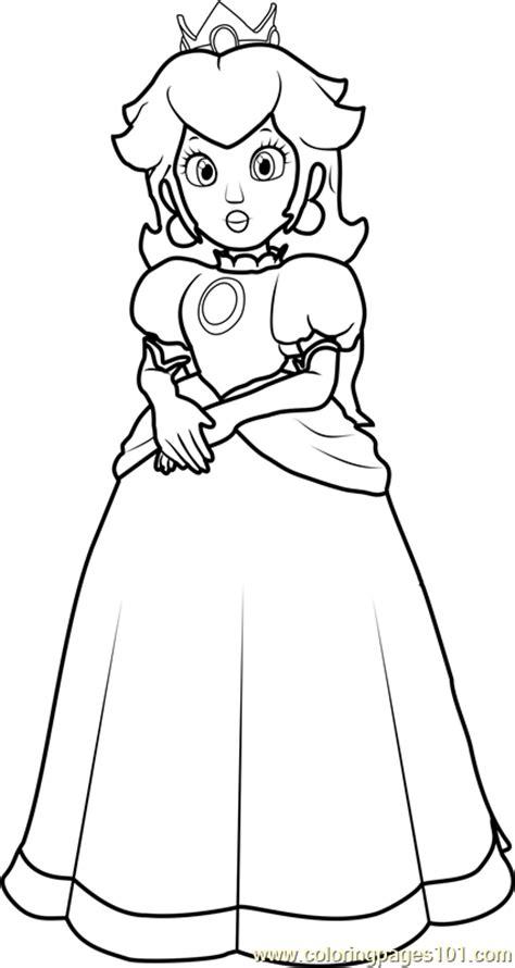 coloring pages mario peach princess peach coloring page free super mario coloring