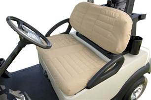 Seat Cover Golf Cart Golf Cart Seat Cover Classic Accessories Fleece Golf Cart