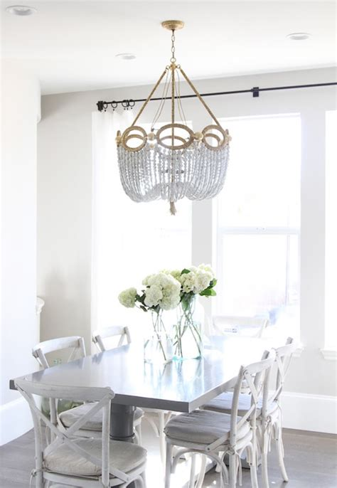 white chandelier for room white chandeliers for dining rooms fiona beaded