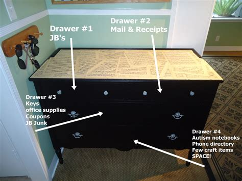 How To Organize Dresser by Organizing The Entry Organizing Made Organizing The